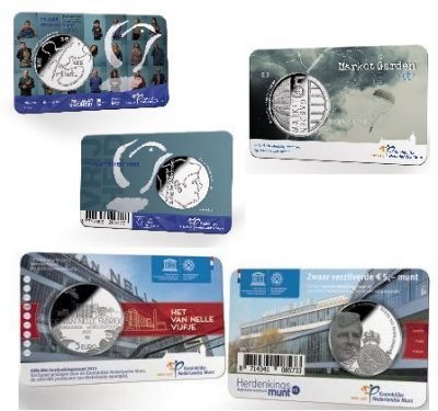 Nederland Coincards Unc