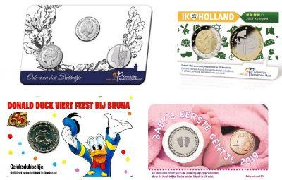 Nederland Coincards Diverse