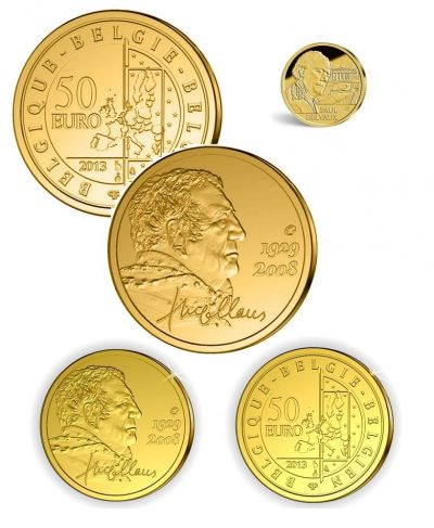 Gold Coins Belgium
