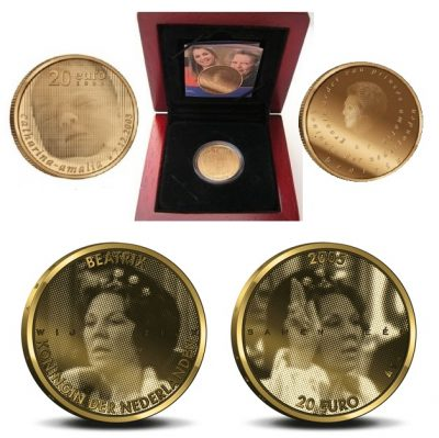 Netherlands Gold Coins 20 Euro