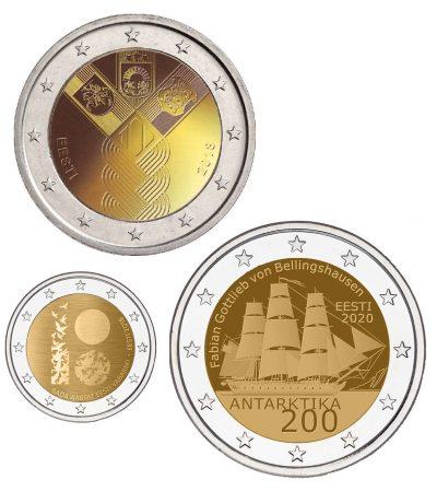 Speciale 2 Euromunten Estland Unc