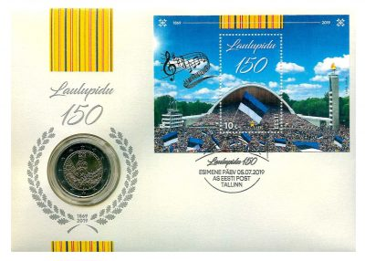 Speciale 2 Euromunten Estland Numisbrief