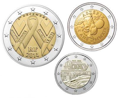 Speciale 2 Euromunten Frankrijk Unc