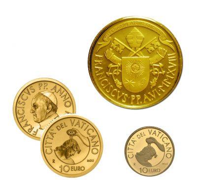 Gold Coins Vatican