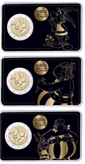 Speciale 2 Euromunten Frankrijk Coincards