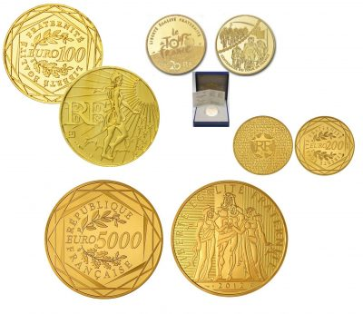 Gold Coins France