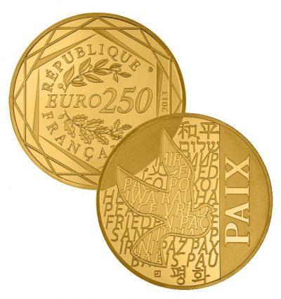 Frankrijk 250 Euro