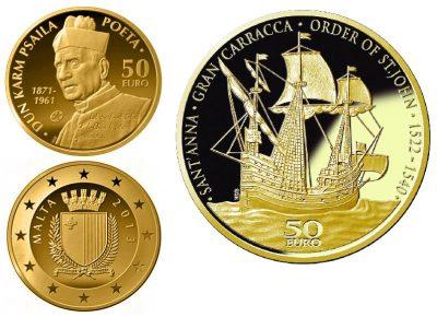 Gold Coins Malta