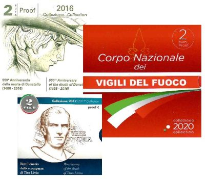 Speciale 2 Euromunten Italie Proof