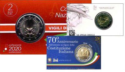 Speciale 2 Euromunten Italie Coincards