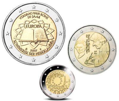 Speciale 2 Euromunten Nederland Unc