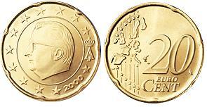 Belgie 20 Cent