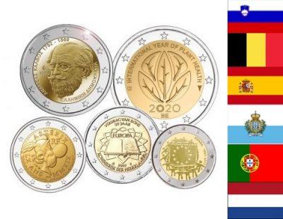 Speciale 2 Euro Munten Op Land