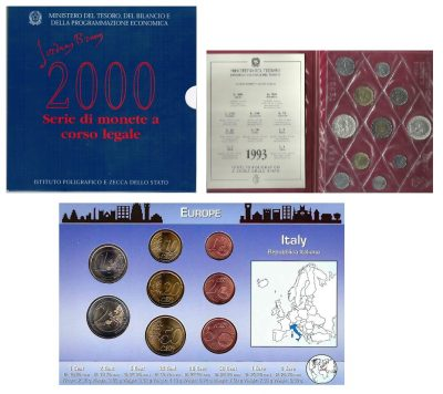 Worldcoins Italy Sets
