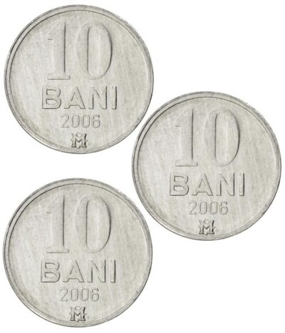 Worldcoins Moldova 10 Bani