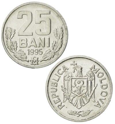 Worldcoins Moldova 25 Bani