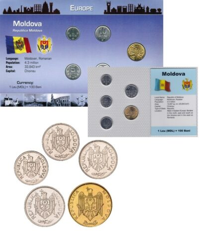 Worldcoins Moldova Sets