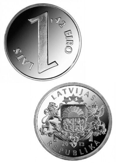 Letland 1.42 Euro