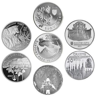 Slowakije 20 Euro