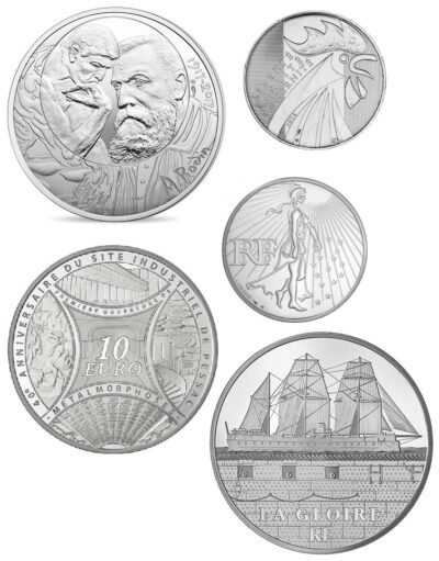 Frankrijk 10 Euro Unc