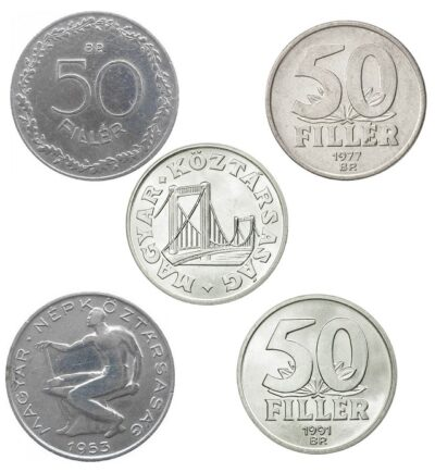 Worldcoins Hungary 50 Filler