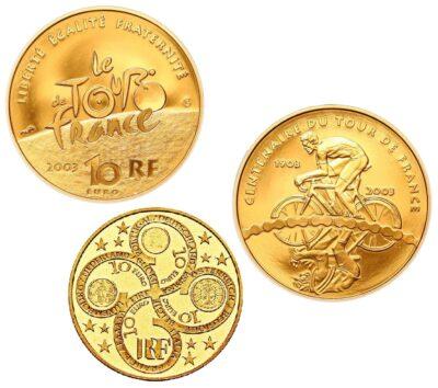 Frankrijk 10 Euro Goud