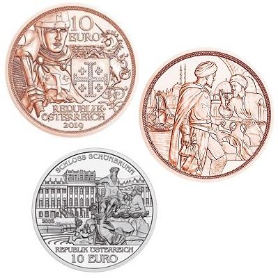 Oostenrijk 10 Euro Unc