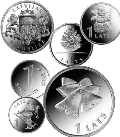 Worldcoins Latvia 1 Lats