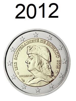 Speciale 2 Euro Munten 2012