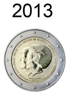 Speciale 2 Euro Munten 2013