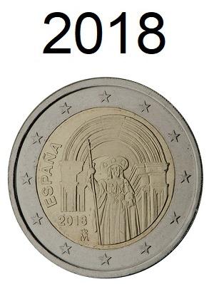 Speciale 2 Euro Munten 2018