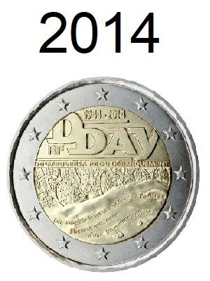 Speciale 2 Euro Munten 2014