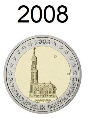 Speciale 2 Euro Munten 2008