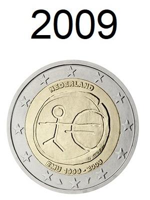 Speciale 2 Euro Munten 2009
