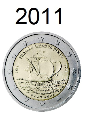 Speciale 2 Euro Munten 2011