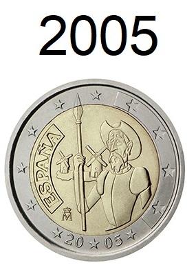 Speciale 2 Euro Munten 2005