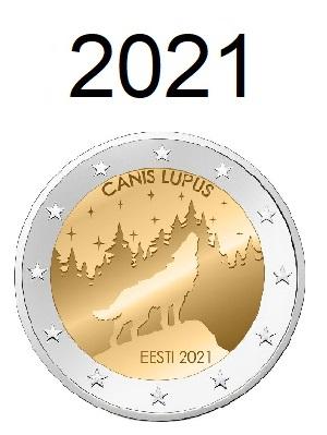 Speciale 2 Euro Munten 2021
