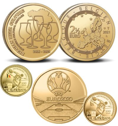 Belgie 2.50 Euro Unc