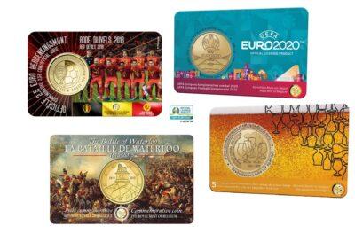 Belgie 2.50 Euro Coincard
