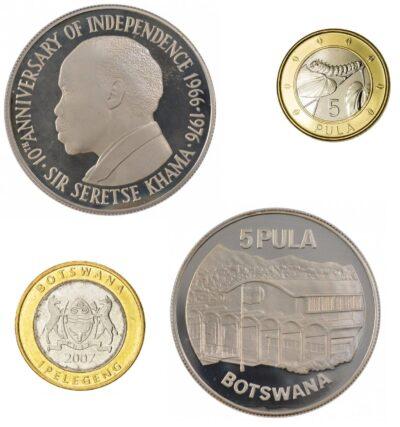 Worldcoins Botswana 5 Pula