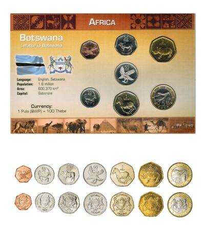 Worldcoins Botswana sets