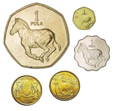 Worldcoins Botswana 1 Pula