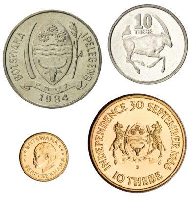 Worldcoins Botswana 10 Thebe