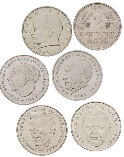 Worldcoins Germany Federal Republic 2 Mark