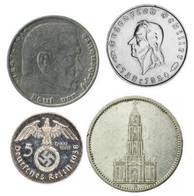 Worldcoins Germany Third Reich 5 Mark
