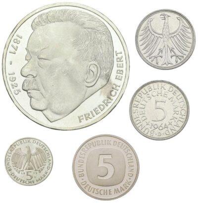 Worldcoins Germany Federal Republic 5 Mark