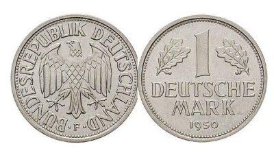 Worldcoins Germany Federal Republic 1 Mark