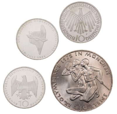 Worldcoins Germany Federal Republic 10 Mark