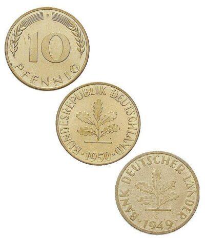 Worldcoins Germany Federal Republic 10 Pfennig